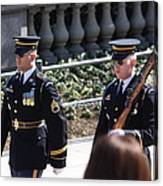 Arlington National Cemetery - Tomb Of The Unknown Soldier - 121223 Canvas Print