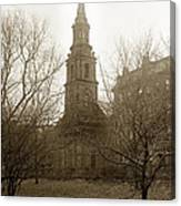 Arlington Street Church Unitarian Universalist Boston Massachusetts Circa 1900 Canvas Print