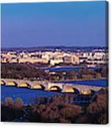 Arlington, Va - Wash D.c. - Panoramic Canvas Print