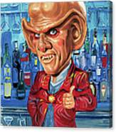 Armin Shimerman As Quark Canvas Print
