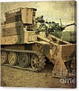 Armoured Power  Canvas Print