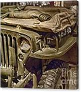 Army Mule  Canvas Print