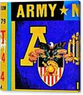 Army Navy 1979 Canvas Print