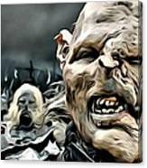 Army Of Orcs Canvas Print