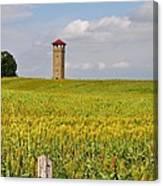 Army War College Tower Antietam Canvas Print