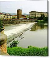 Arno River 1 Canvas Print