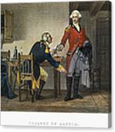 Arnold And Andre, 1780 Canvas Print