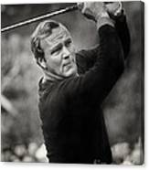 Arnold Palmer Pro-am Golf Photo Pebble Beach Monterey Calif. Circa 1960 Canvas Print