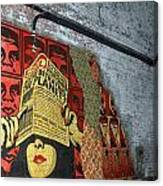 Arnolds And Graffiti Andre The Giant Has A Posse Canvas Print