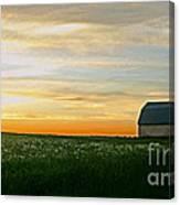 Aroostook Sunset Canvas Print