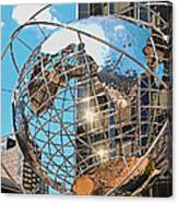 Around The World In Nyc Canvas Print