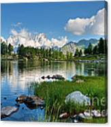 Arpy Lake - Aosta Valley Canvas Print