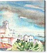 Arrecife In Lanzarote 10 Canvas Print