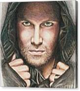 Arrow/ Stephen Amell Canvas Print