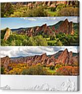 Arrowhead Four Seasons-2 Canvas Print