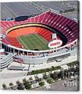 Arrowhead Stadium Kansas City Missouri Canvas Print