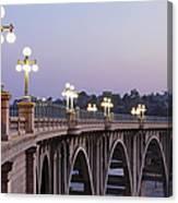 Arroyo Seco Bridge Pasadena Canvas Print