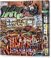 Art Alley Canvas Print