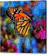 Art B-fly Canvas Print