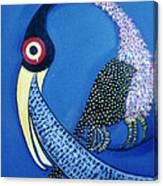Art Bird Canvas Print