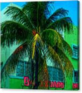 Art Deco Boulevard Hotel Miami Canvas Print