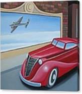 Art Deco Coupe Canvas Print