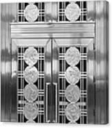Art Deco Door 2 Canvas Print