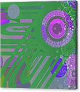 Art Deco Explosion 3 Canvas Print