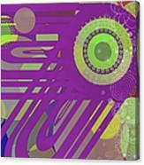 Art Deco Explosion 6 Canvas Print