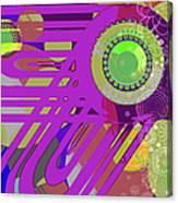 Art Deco Explosion 7 Canvas Print