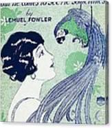 Art Deco Poster Canvas Print