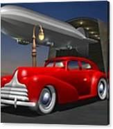 Art Deco Sedan Canvas Print