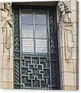 Art Deco Window Canvas Print