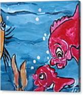 Fish Art Canvas Print