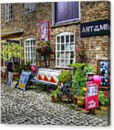 Art In The Mill Canvas Print