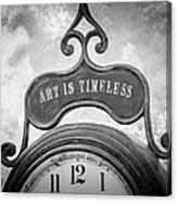 Art Is Timeless Canvas Print