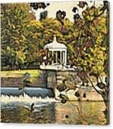 Art Museum Gazebo Canvas Print