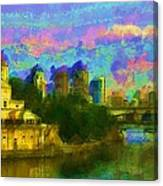 Art Museum Rhapsody Canvas Print
