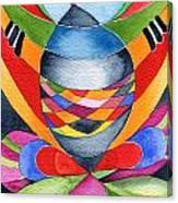 Art Nouveau Shaman Canvas Print