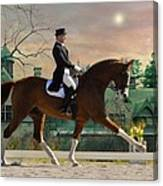 Art Of Dressage Canvas Print