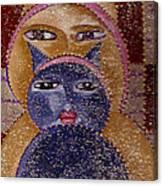 Art Picasso Cats Canvas Print