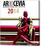 Artcevia International Art Festival - 2014 Canvas Print