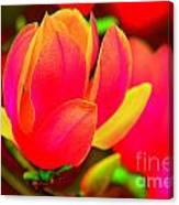 Artdeco Flower Canvas Print