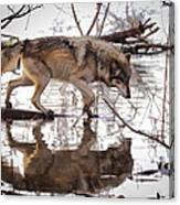 Artful Crossing Canvas Print
