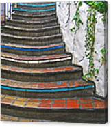 Artful Stair Steps Canvas Print