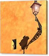 Artful Street Lamp Canvas Print