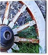 Artful Wagon Wheel Canvas Print