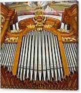 Arth Goldau Organ Canvas Print