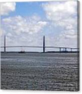 Arthur Ravenel Bridge Canvas Print