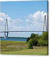 Arthur Ravenel Jr Bridge Canvas Print